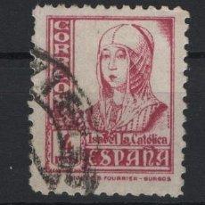 Sellos: TV_003.G14/ ESPAÑA 1937-40, EDIFIL 829 USADO, ISABEL. Lote 260370535