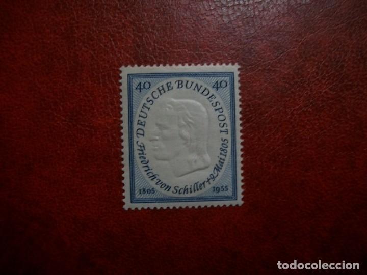 /02.05/-ALEMANIA FEDERAL-1955-SERIE COMPLETA EN NUEVO CON CHARNELA(**MLH)-A 5% (Sellos - España - Estado Español - De 1.936 a 1.949 - Nuevos)