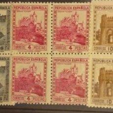 Sellos: EDIFIL 770 771 772 SELLOS MNH SELLOS ESPAÑA NUEVOS AÑO 1938 MONUMENTOS Y AUTOGIRO. Lote 261612325
