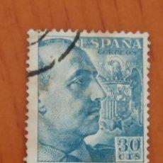 Sellos: SELLO ESPAÑA Nº 1049. CID Y GRAL.FRANCO. USADO.. Lote 261791200
