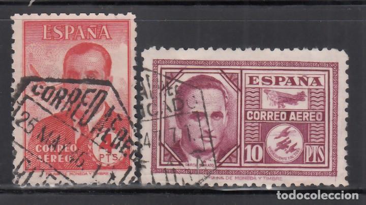 ESPAÑA, 1945 EDIFIL Nº 991 / 992, HAYA Y GARCÍA MORATO (Sellos - España - Estado Español - De 1.936 a 1.949 - Usados)
