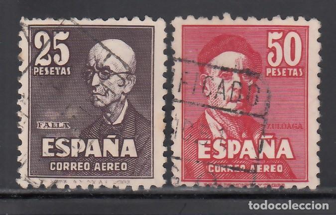 ESPAÑA, 1947 EDIFIL Nº 1015 / 1016, FALLA Y ZULOAGA, (Sellos - España - Estado Español - De 1.936 a 1.949 - Usados)