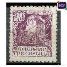 Francobolli: ESPAÑA 1944. EDIFIL 977. MILENARIO DE CASTILLA. USADO LEER. Lote 262645370