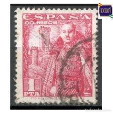 Francobolli: ESPAÑA 1948-54. EDIFIL 1032. GENERAL FRANCO. USADO LEER. Lote 262739245