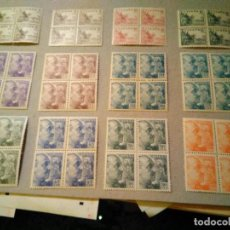 Sellos: 1044/61** BLOQUE 4 1949-53 EN PERFECTO ESTADO Y CENTRADO. Lote 262973065