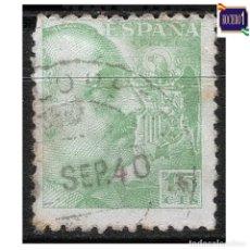 Francobolli: ESPAÑA 1940-45. EDIFIL 921. GENERAL FRANCO. USADO LEER. Lote 263006670