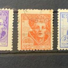 Sellos: Nº 954/956 IV CENTENARIO DE SAN JUAN DE LA CRUZ. Lote 263081920