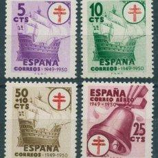 Sellos: ESPAÑA 1949 - EDIFIL 1066/69** - PRO TUBERCULOSOS. Lote 263746585