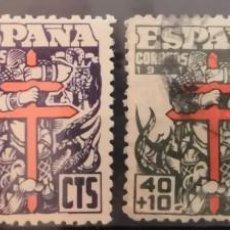 """Sellos: ESPAÑA 1941. EDIFIL 948/951.PRO TUBERCULOSOS. """"VER DESCRIPCIÓN"""".. Lote 263757270"""