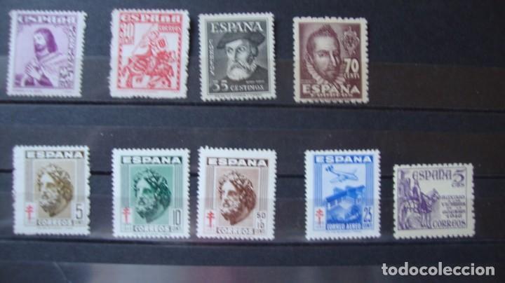 ESPAÑA LOTE DIVERSAS SERIE AÑO 1948 NUEVOS VER DESCRIPCION Y DOTOS (Sellos - España - Estado Español - De 1.936 a 1.949 - Nuevos)
