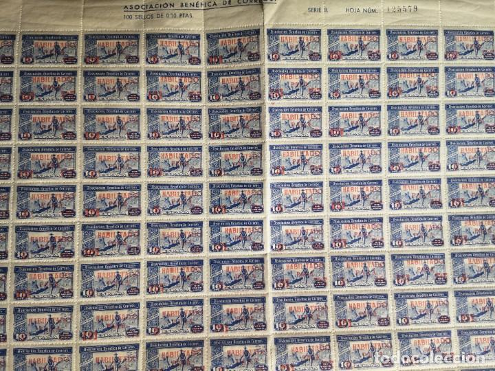 Sellos: Sello asociacion benéfica de correos 10 centimos - Foto 2 - 264780084