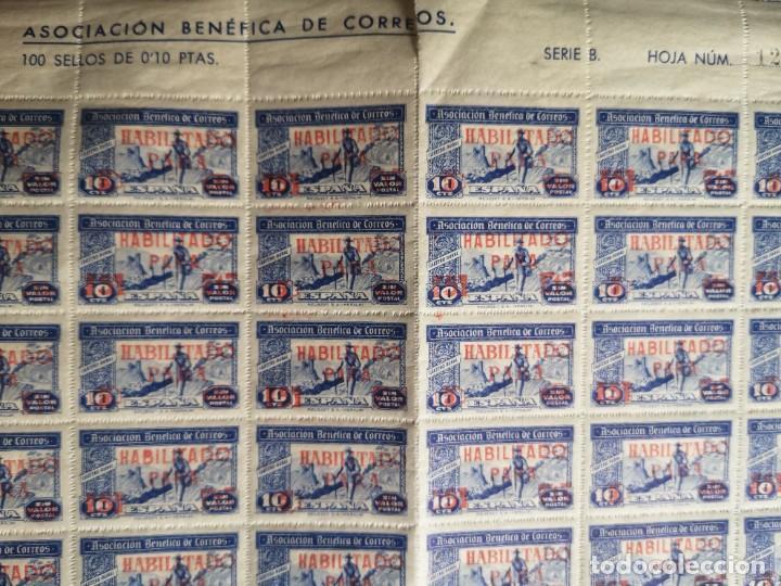 Sellos: Sello asociacion benéfica de correos 10 centimos - Foto 3 - 264780084