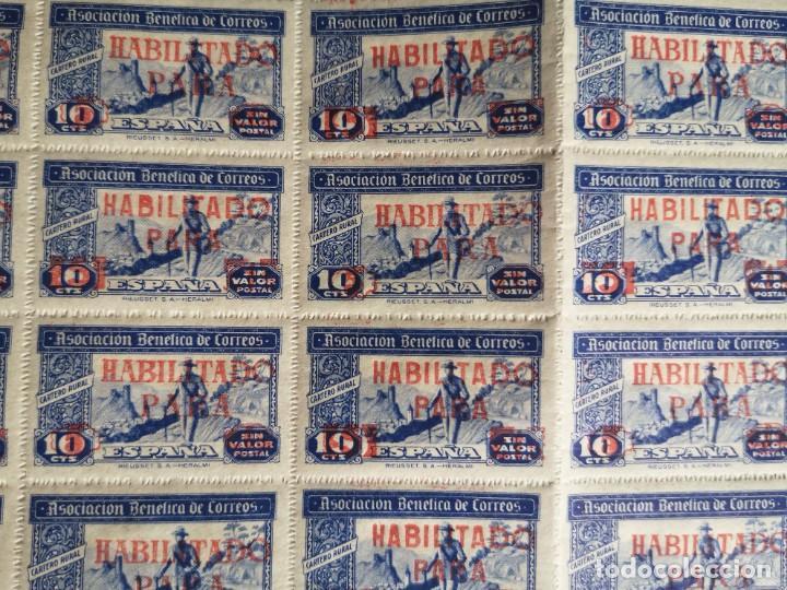 Sellos: Sello asociacion benéfica de correos 10 centimos - Foto 4 - 264780084