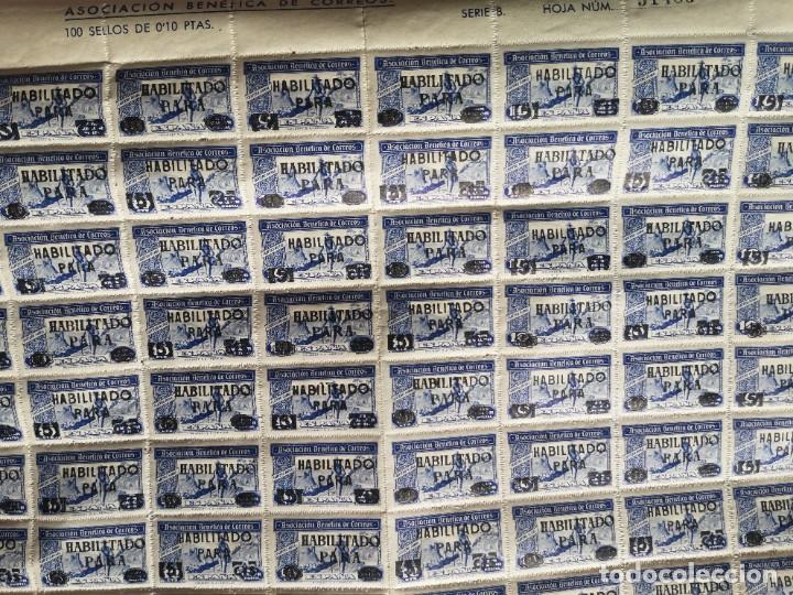Sellos: Sello asociacion benéfica de correos 10 centimos - Foto 7 - 264780084