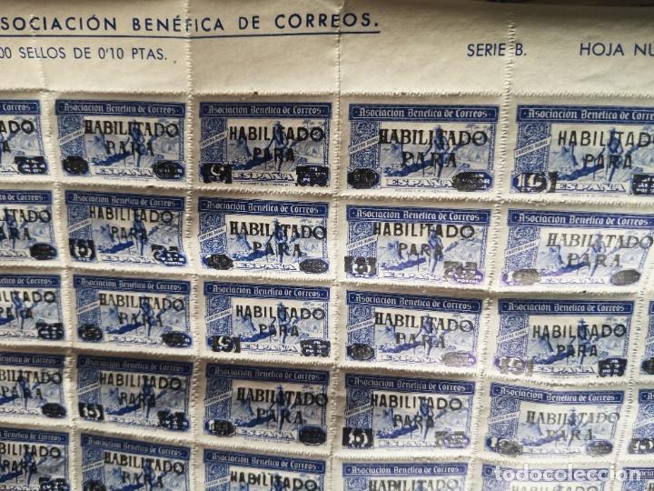 Sellos: Sello asociacion benéfica de correos 10 centimos - Foto 8 - 264780084