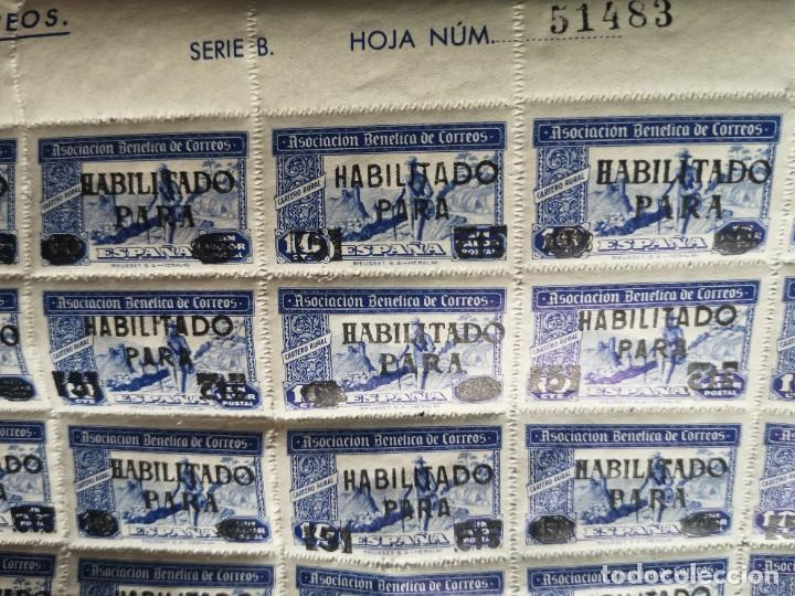 Sellos: Sello asociacion benéfica de correos 10 centimos - Foto 9 - 264780084