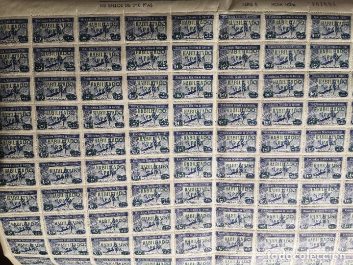 Sellos: Sello asociacion benéfica de correos 10 centimos - Foto 11 - 264780084