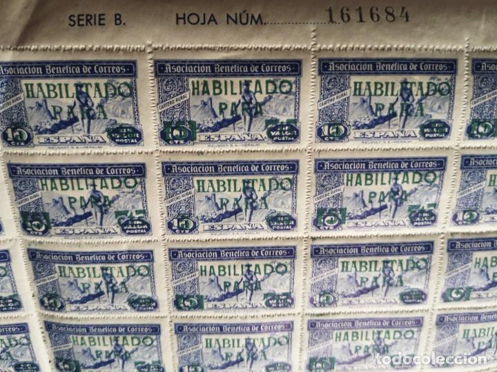 Sellos: Sello asociacion benéfica de correos 10 centimos - Foto 13 - 264780084