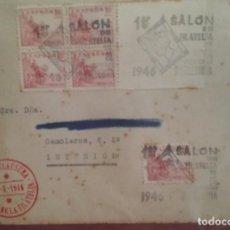Sellos: PRIMER SALÓN DE FILATELIA 1946 EL CID BLOQUE 4. Lote 264808649