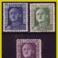 Francobolli: 1946 GENERAL FRANCO, EDIFIL Nº 999 A 1001 *. Lote 266150208