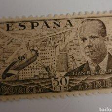 Sellos: SELLO DE ESPAÑA 1941. 50 CTS. AUTOGIRO DE LA CIERVA. NUEVO. Lote 267858069