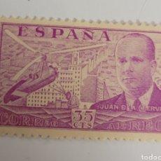 Sellos: SELLO DE ESPAÑA 1941. 35 CTS. AUTOGIRO DE LA CIERVA. NUEVO. Lote 267858294