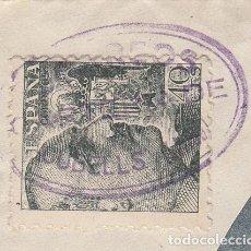 Sellos: MATASELLOS CARTERÍA DE CUBELLS (LLEIDA). Lote 268820329