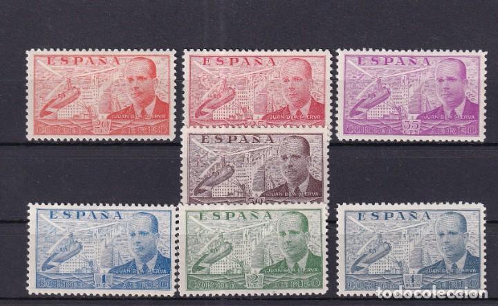 SELLOS ESPAÑA AÑO 1939 EDIFIL 880*/886* EN NUEVO SERIE COMPLETA VALOR CATALOGO 17 € (Sellos - España - Estado Español - De 1.936 a 1.949 - Nuevos)