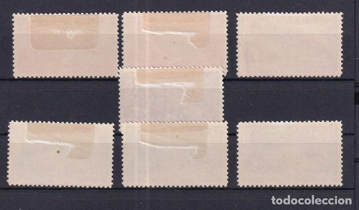 Sellos: sellos España Año 1939 Edifil 880*/886* en nuevo serie completa valor catalogo 17 € - Foto 2 - 268830944
