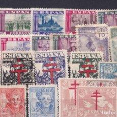 Sellos: SELLOS ESPAÑA OFERTA FICHA LLENA DE SELLOS PRIMER CENTENARIO. Lote 268842284