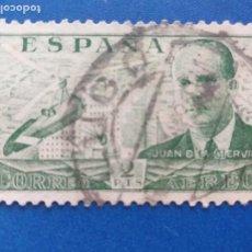 Sellos: USADO. AÑO 1939. EDIFIL Nº 885. JUAN DE LA CIERVA.. Lote 269117528