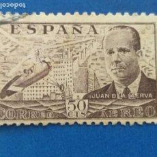 Sellos: USADO. AÑO 1941-1947. EDIFIL. Nº 943. JUAN DE LA CIERVA.. Lote 269118488