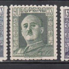 Timbres: ESPAÑA, 1946 - 1947 EDIFIL Nº 999 / 1001 /**/, GENERAL FRANCO. SIN FIJASELLOS. Lote 269279848