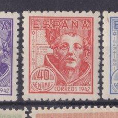 Selos: FC3-96-S JUAN DE LA CRUZ EDIFIL 954 /56 NUEVOS ** SIN FIJASELLOS. LUJO. CENTRADOS. Lote 271987208