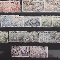 Sellos: LOTE SELLOS USADOS DE LA CIERVA ESPAÑA 1939 - 1941. Lote 273403223