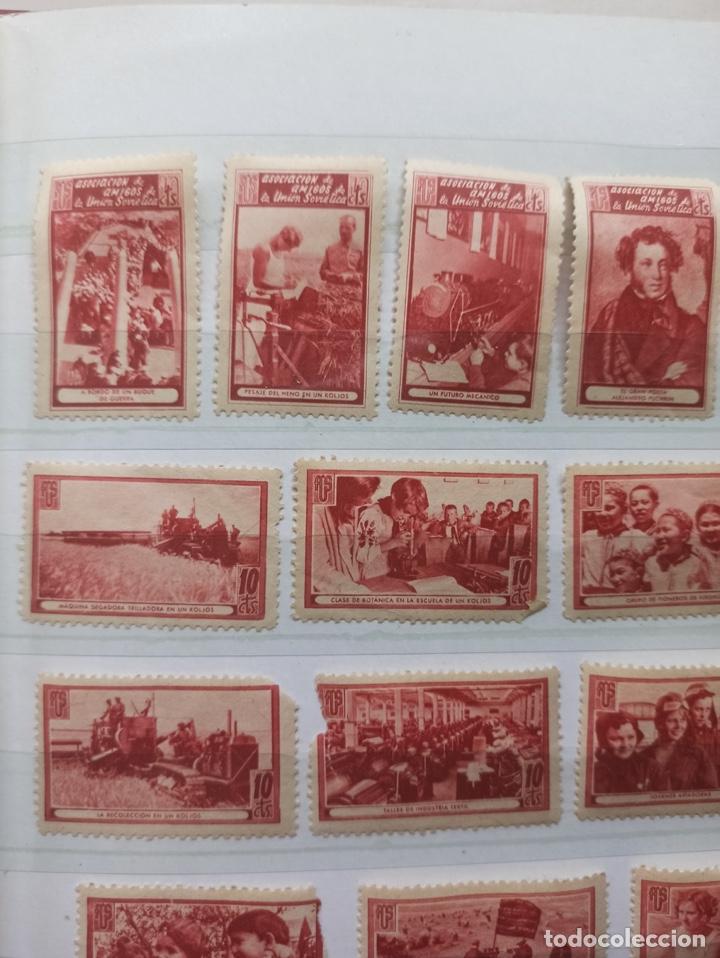 Sellos: Lote sellos Asociación de Amigos de la Unión Soviética - Foto 2 - 273478998
