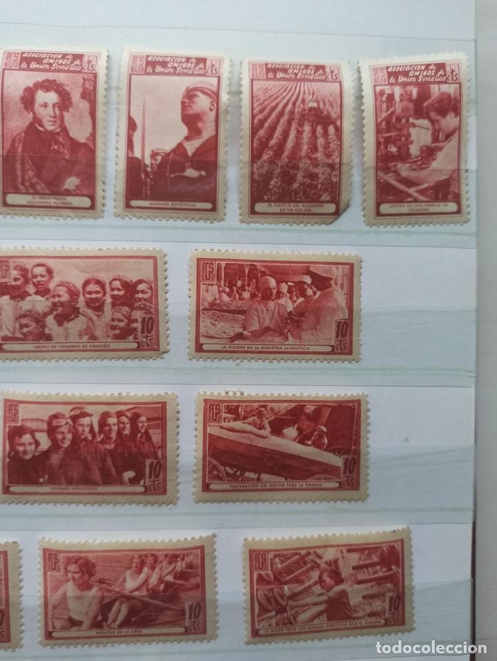 Sellos: Lote sellos Asociación de Amigos de la Unión Soviética - Foto 3 - 273478998