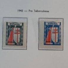 Sellos: ESPAÑA 1943. EDIFIL 970/3**. NUEVOS SIN FIJASELLOS.. Lote 275898828