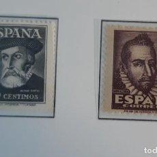 Sellos: ESPAÑA 1948. EDIFIL 1035/6**. NUEVOS SIN FIJASELLOS. Lote 275901168