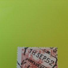 Sellos: VIGO PONTEVEDRA GALICIA MATASELLO 1952 EDIFIL 917 USADO CID CIFRAS FILATELIA COLISEVM. Lote 276114458
