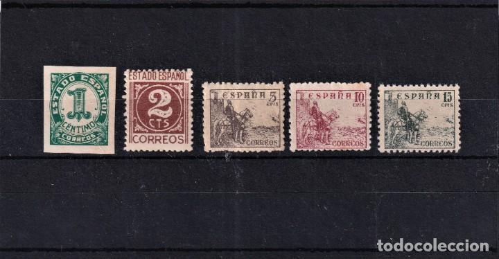 SELLOS ESPAÑA AÑO 1940 OFERTA EDIFIL 914/918 EN NUEVO SERIE COMPLETA VALOR DE CATALOGO 4.5 € (Sellos - España - Estado Español - De 1.936 a 1.949 - Nuevos)