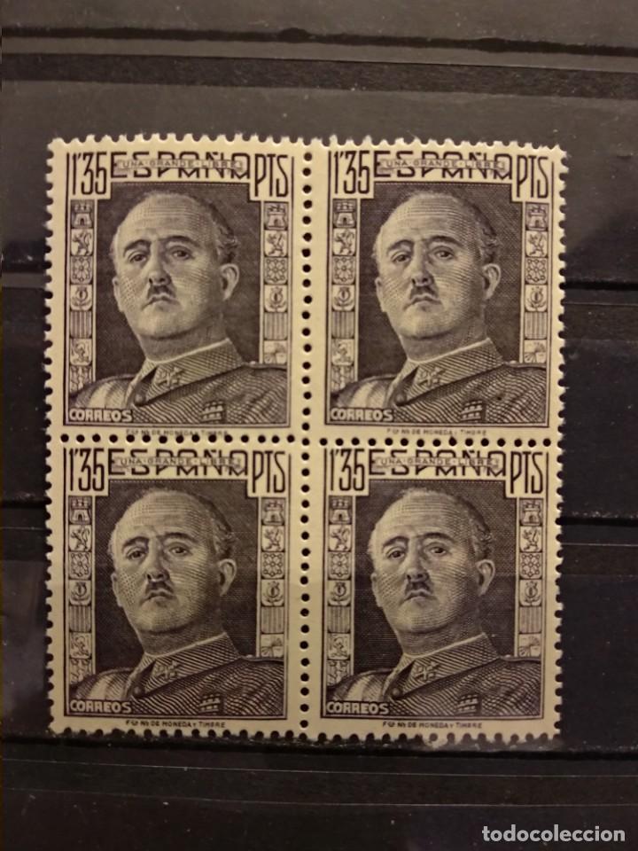 AÑO 1949-1953 CID Y GENERAL FRANCO SELLOS NUEVOS EDIFIL 1061 (Sellos - España - Estado Español - De 1.936 a 1.949 - Nuevos)