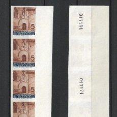Sellos: ESPAÑA BARCELONA 1936 EDIFIL 13S SIN DENTAR X 5 (*) - 7/40. Lote 277137958