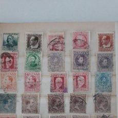 Sellos: SELLOS ESPAÑA AÑO 1930/1950 OFERTA ANTIGUO CLASIFICADOR LLENO DE SELLOS VER FOTOGRAFIAS. Lote 277435283