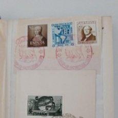 Sellos: SELLOS ESPAÑA AÑO 1930/1950 OFERTA ANTIGUO CLASIFICADOR MATASELLOS BAEZA , FECHADORES Y CARTERIAS. Lote 277435798