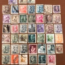 """Selos: LOTE 45 SELLOS USADOS """"ESTADO ESPAÑOL"""" (337). Lote 277448468"""