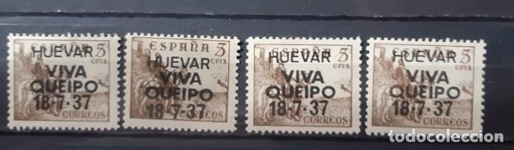 ESPAÑA, VALORES SOBRECARGA PATRIOTICA. (Sellos - España - Estado Español - De 1.936 a 1.949 - Nuevos)