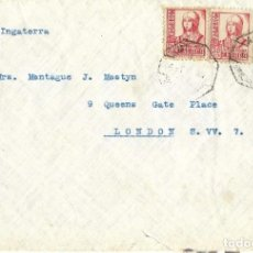 Sellos: 1940'S (2ª GUERRA MUNDIAL) CARTA CARTA CARTAGENA MURCIAA A GALES.. Lote 278834703