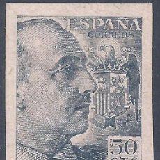 Sellos: EDIFIL 927 GENERAL FRANCO 1940-1945 (VARIEDAD..PRUEBA DE IMPRESIÓN ANVERSO Y REVERSO). LUJO. MNH **. Lote 283033918