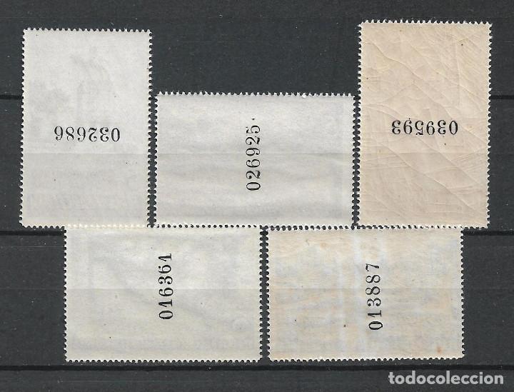 Sellos: ESPAÑA BARCELONA 1936 EDIFIL 14/18 ** MNH 24 € - 7/37 - Foto 2 - 277142478
